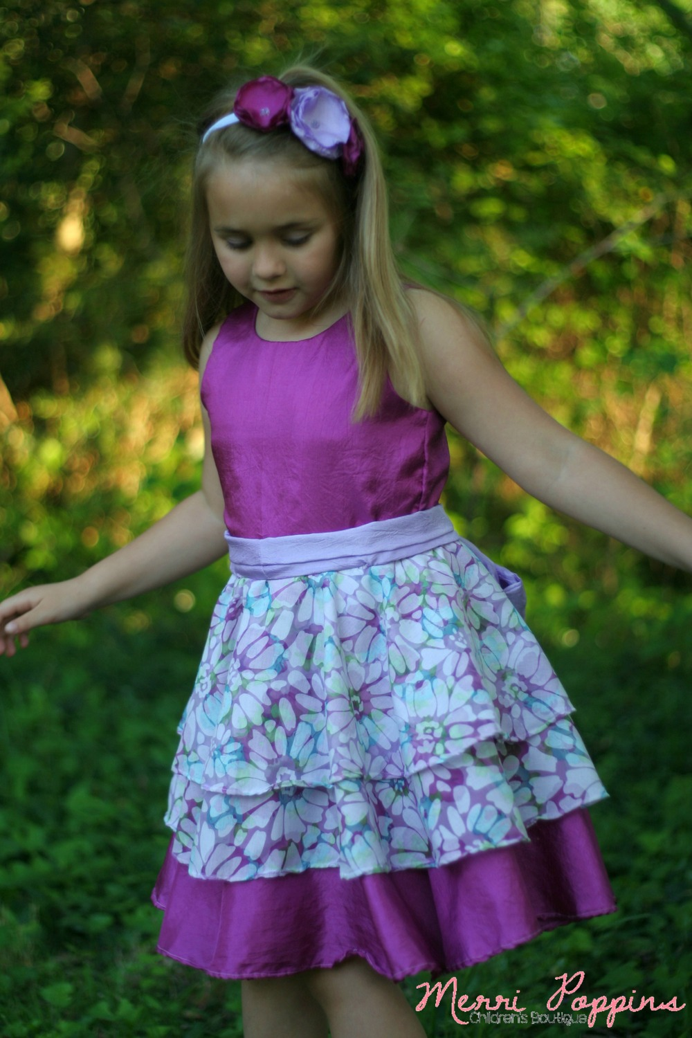 Maddie's Dress by Lily Bird Studio- Pattern Revolution