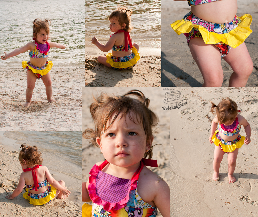 Birdie Bikini by My Childhood Treasures- Pattern Revolution