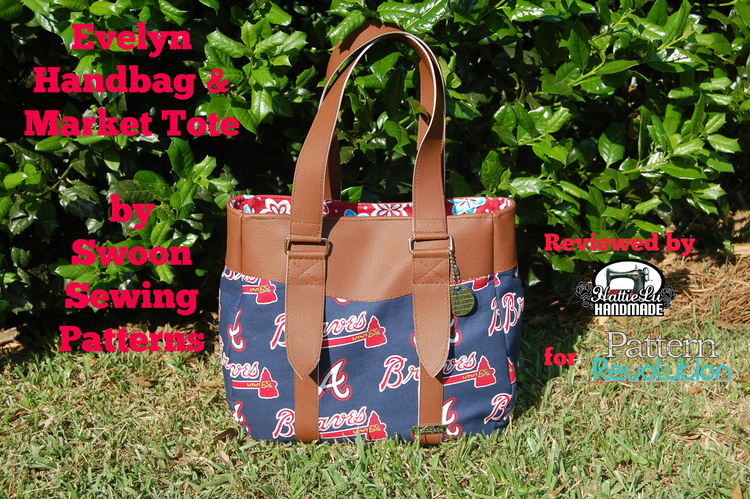 Evelyn Market Tote and Handbag by Swoon Sewing Patterns — Pattern ...