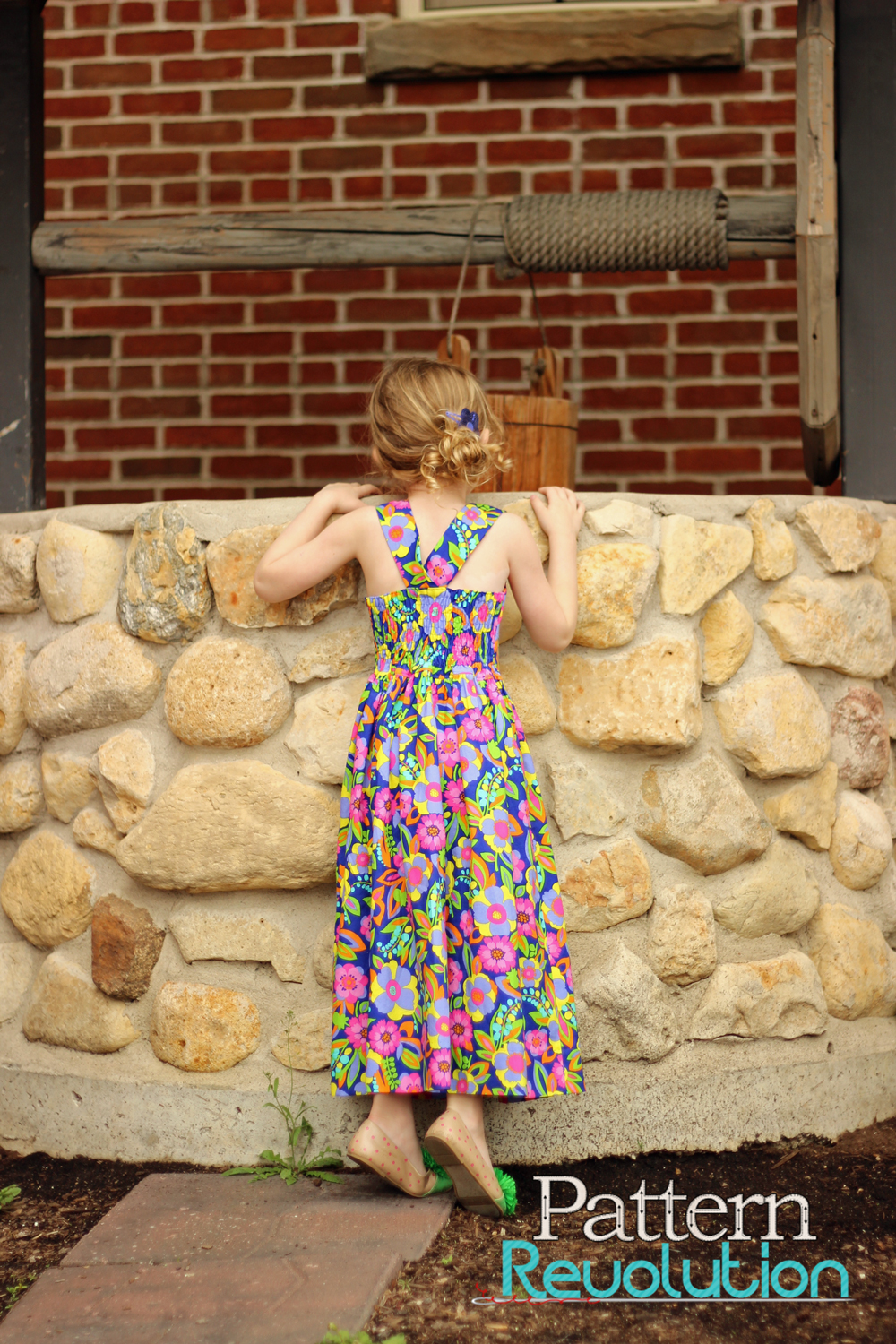 Brueram Dress by Sofilantjes- Pattern Revolution