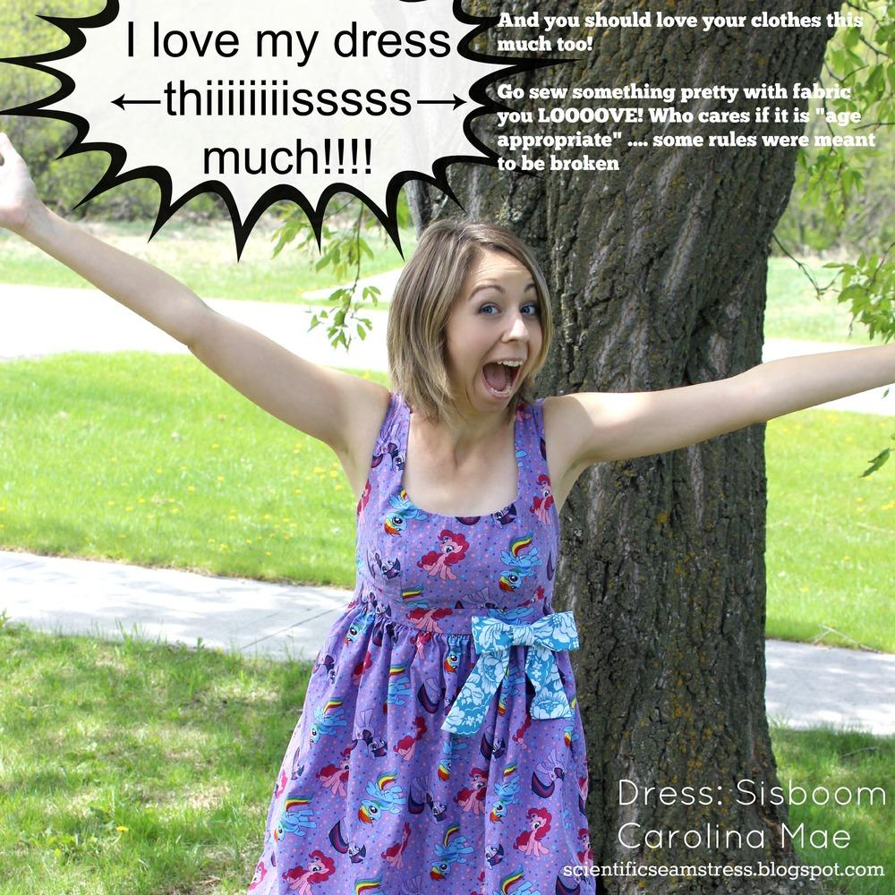 Summer dress girl pattern rule