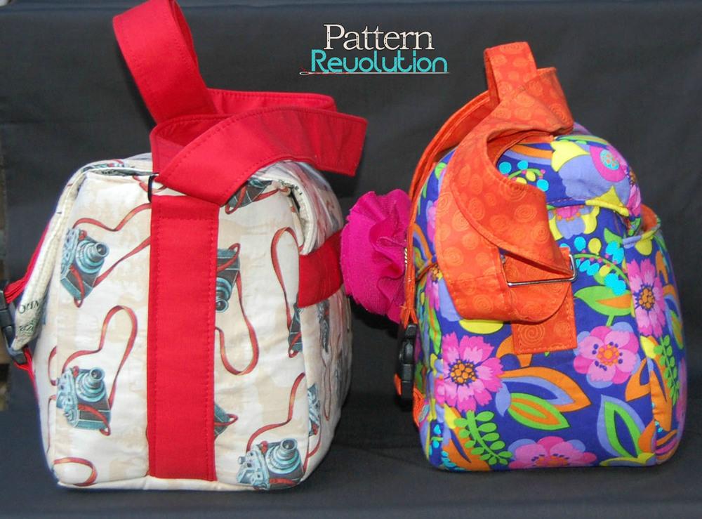 Ansel & Swoon side by side- Pattern Revolution