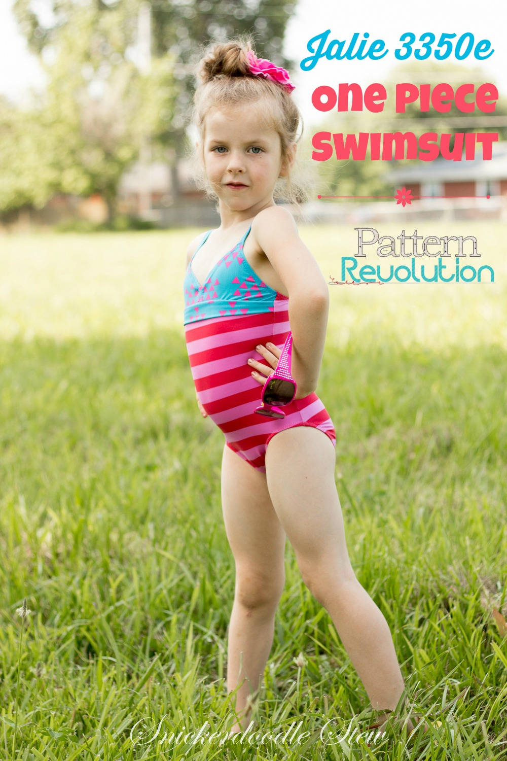One Piece Swimsuits 3350e By Jalie Patterns Pattern