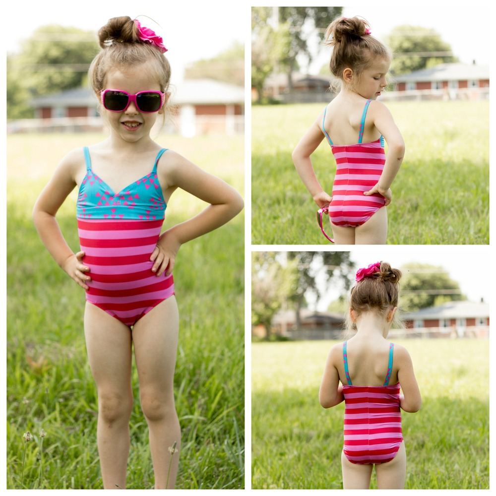 One Piece Swimsuits (3350e) by Jalie Patterns- Pattern Revolution