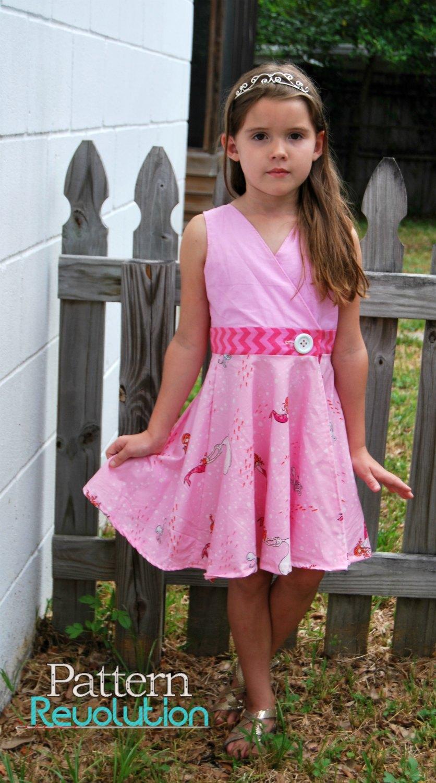 Megan dress by SLPCo- Pattern Revolution