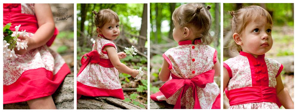 Cherry Blossom Dress by Mandy K Designs- Pattern Revolution