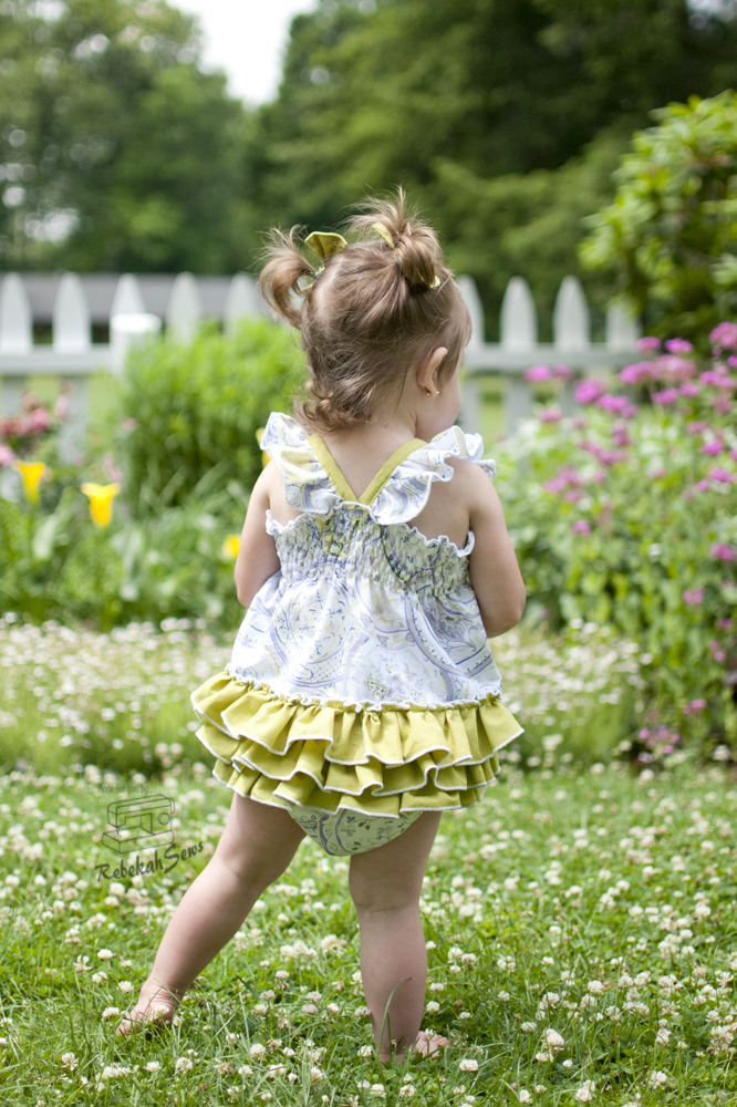 Scarlett's Sun Suit by SLPCo- Pattern Revolution