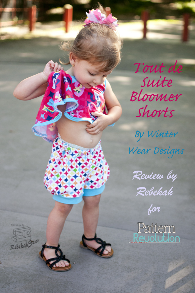 Tout de Suite shorts by WWD- Pattern Revolution