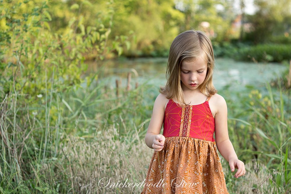 Bella's Dress and Maxi from Simple Life Pattern Company- Pattern Revolution