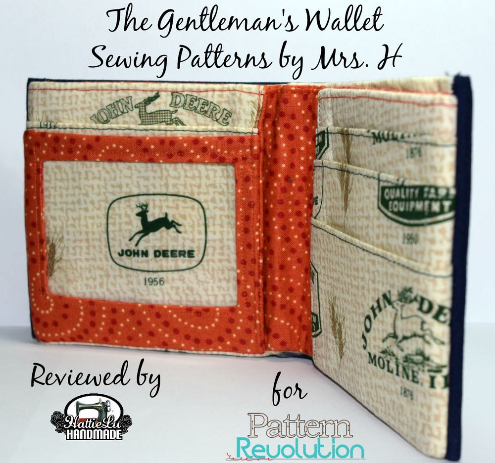 Gentlemans Wallet by Mrs H- Pattern Revolution