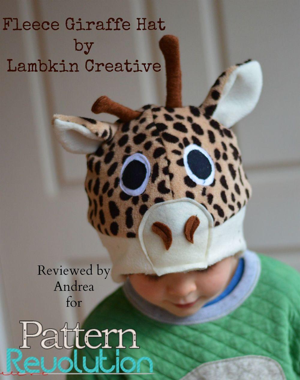 Giraffe Hat by Lambkin Creative- Pattern Revolution