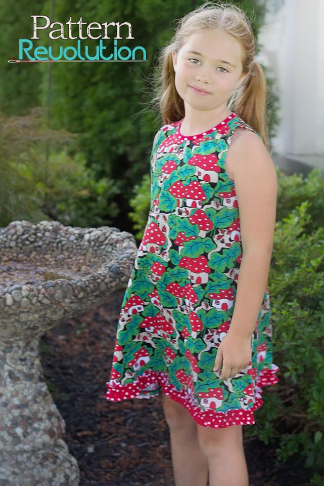 Amber Swing Dress sewn by Paige