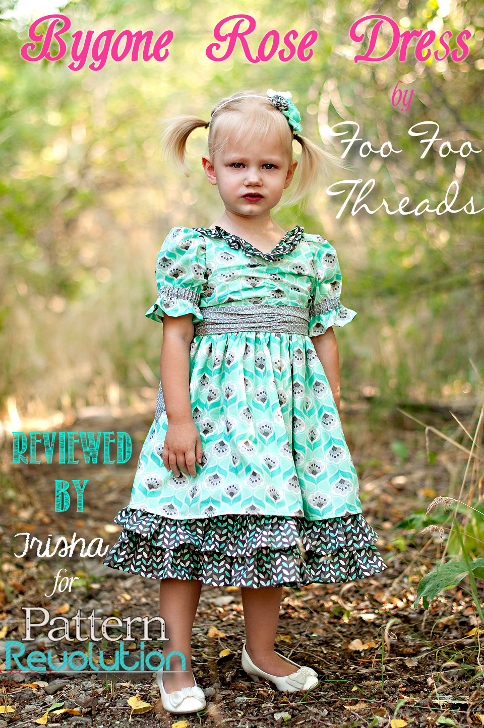 Bygone Rose by Foo Foo Threads- Pattern Revolution