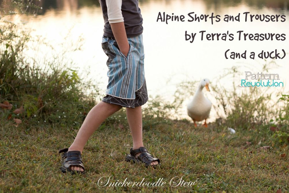 Alpine Shorts and Trousers from Terra's Treasures- Pattern Revolution