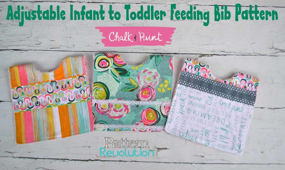 Free Bib Pattern from PatternRevolution.com