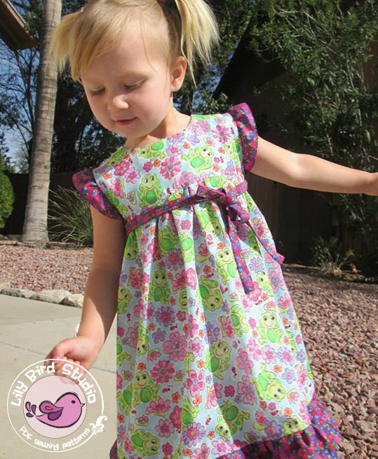 Lily Bird Studios Birthday Dress