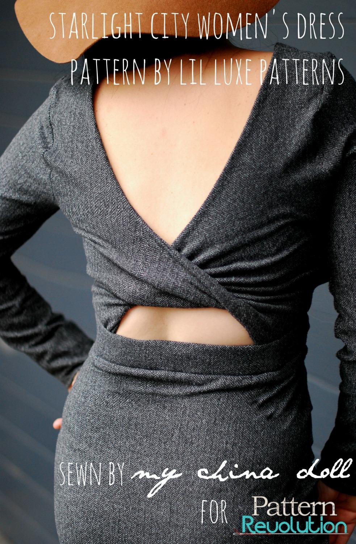 Starlight City Dress By Lil Luxe Patterns Pattern Revolution