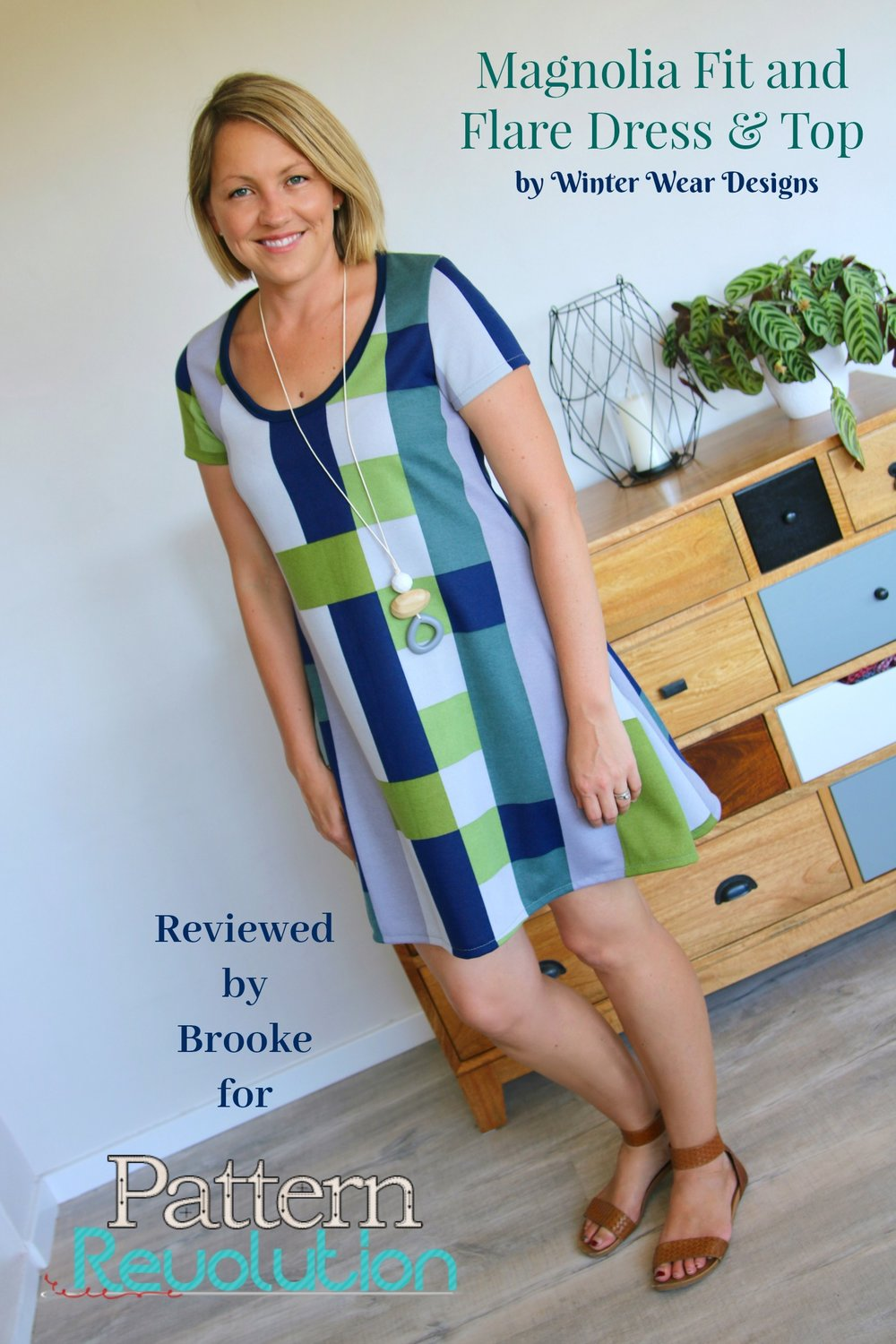 Brooke's Magnolia Dress by Winter Wear Designs