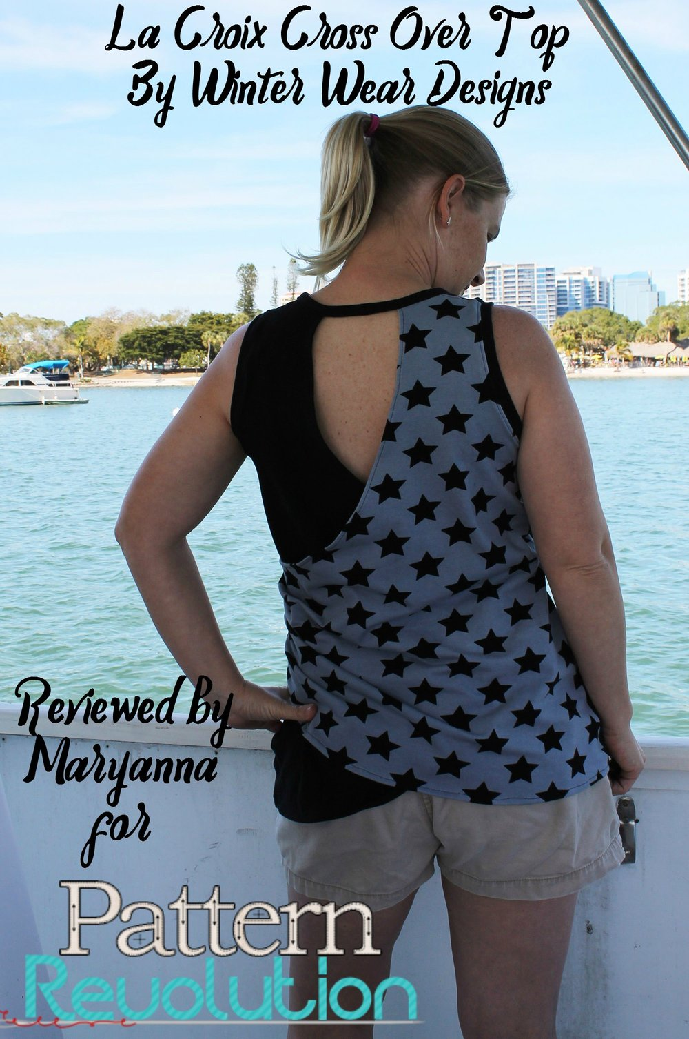 Maryanna's La Croix Top by Winter Wear Designs