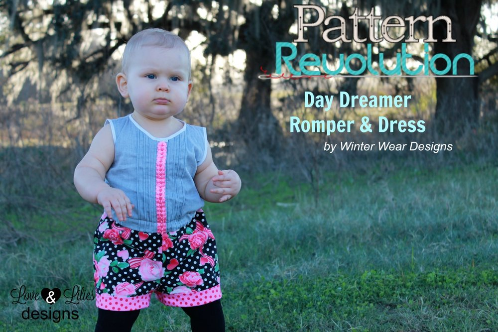 Weatherly's Day Dreamer Romper by Winter Wear Deisgns