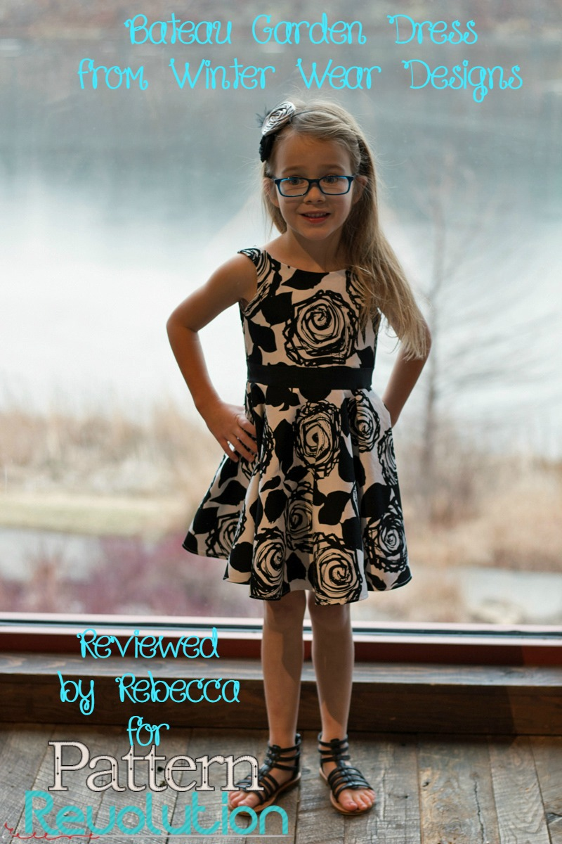 Rebecca's Bateau Garden Dress by Winter Wear Designs