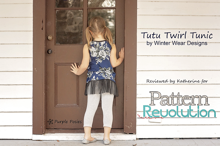 Katherine's Tutu Twirl Tunic from Winter Wear Designs