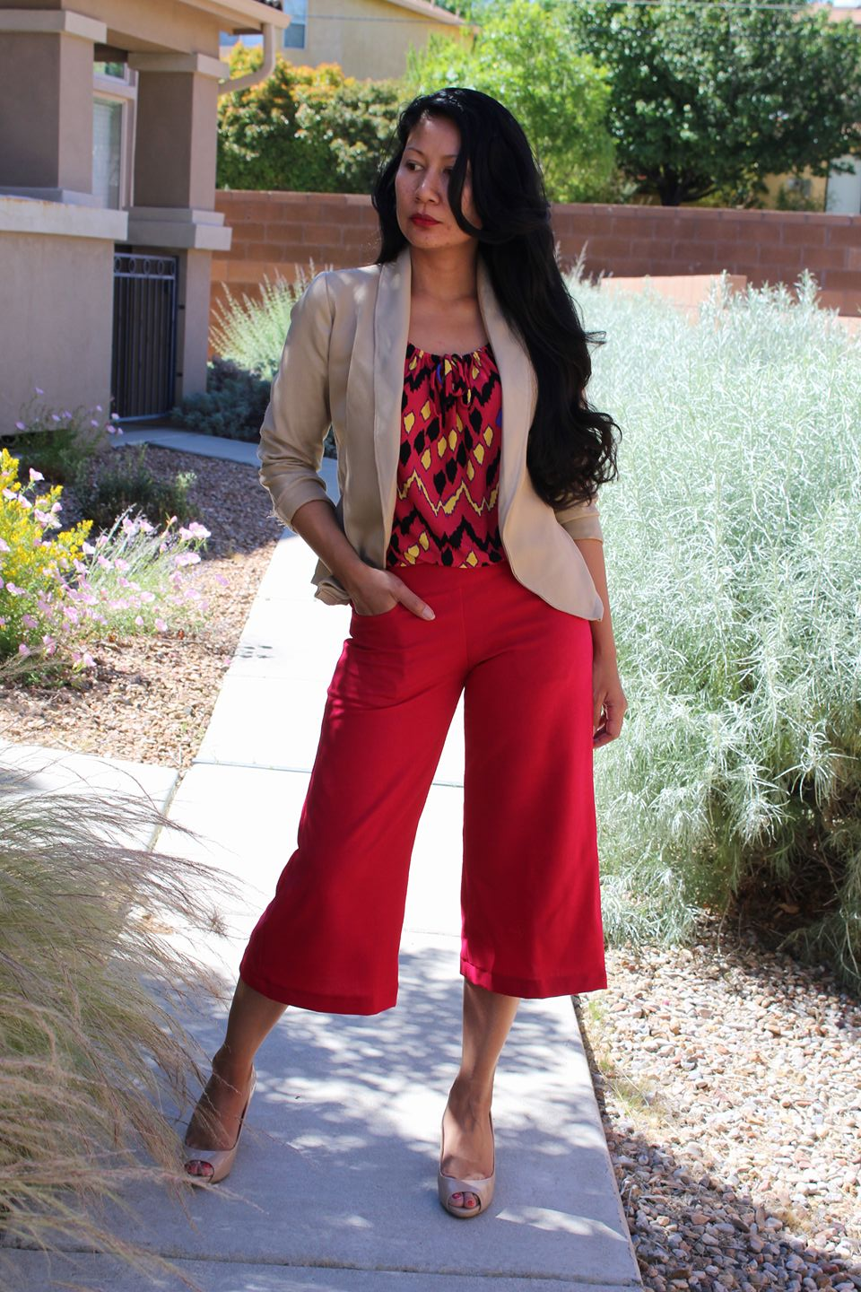 Alyse Wide Leg Pant