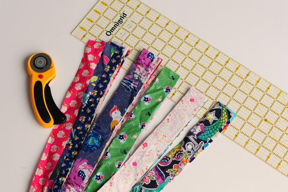 Scrap swap how to make a reverse applique pillow u pattern