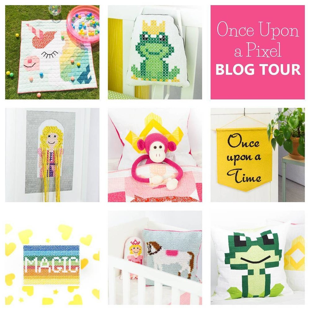 Once Upon A Pixel Blog Tour