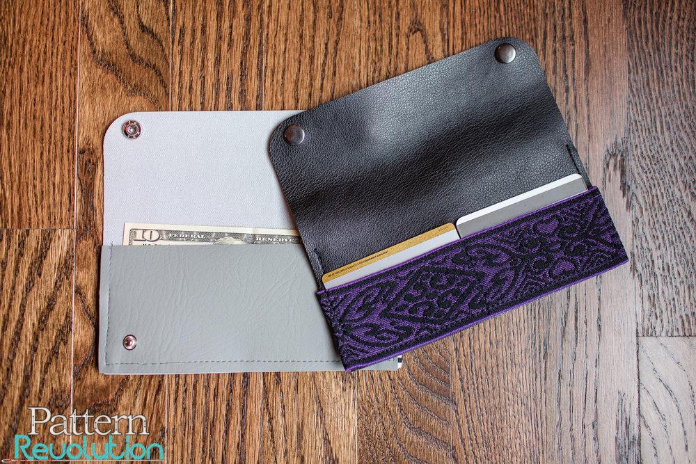 Fold Over Wallet-Upholstery Vinyl