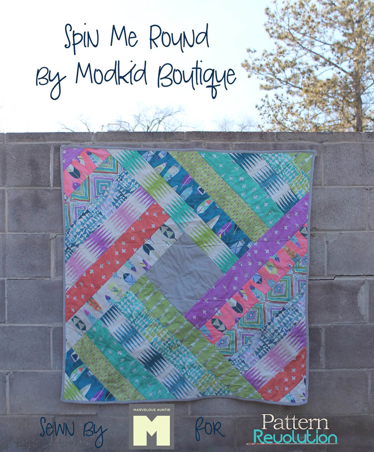 Sew yourself some love spin me round quilt by modkid boutique pinnable imageg solutioingenieria Gallery