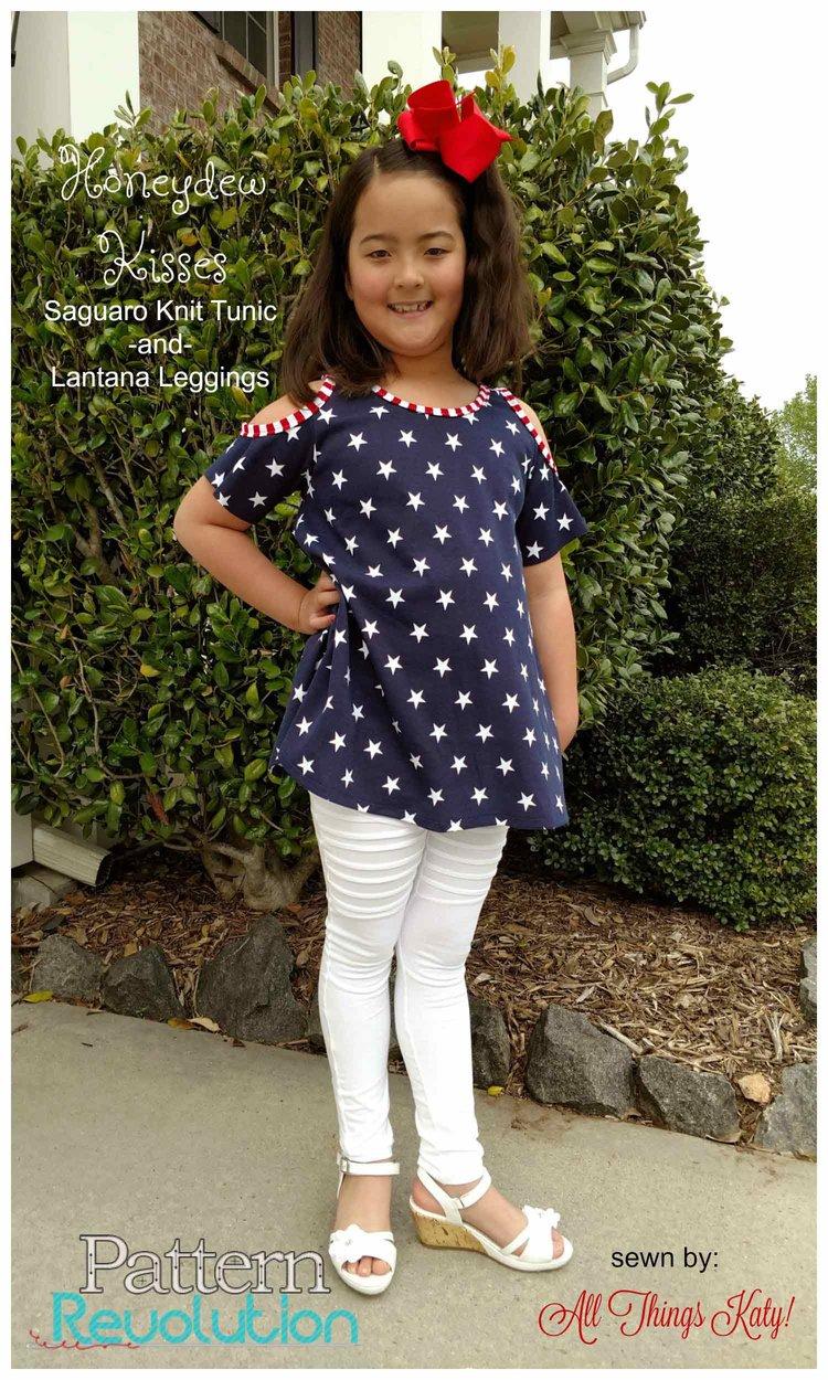 Saguaro Knit Tunic and Lantana Leggings from Honeydew Kisses ...