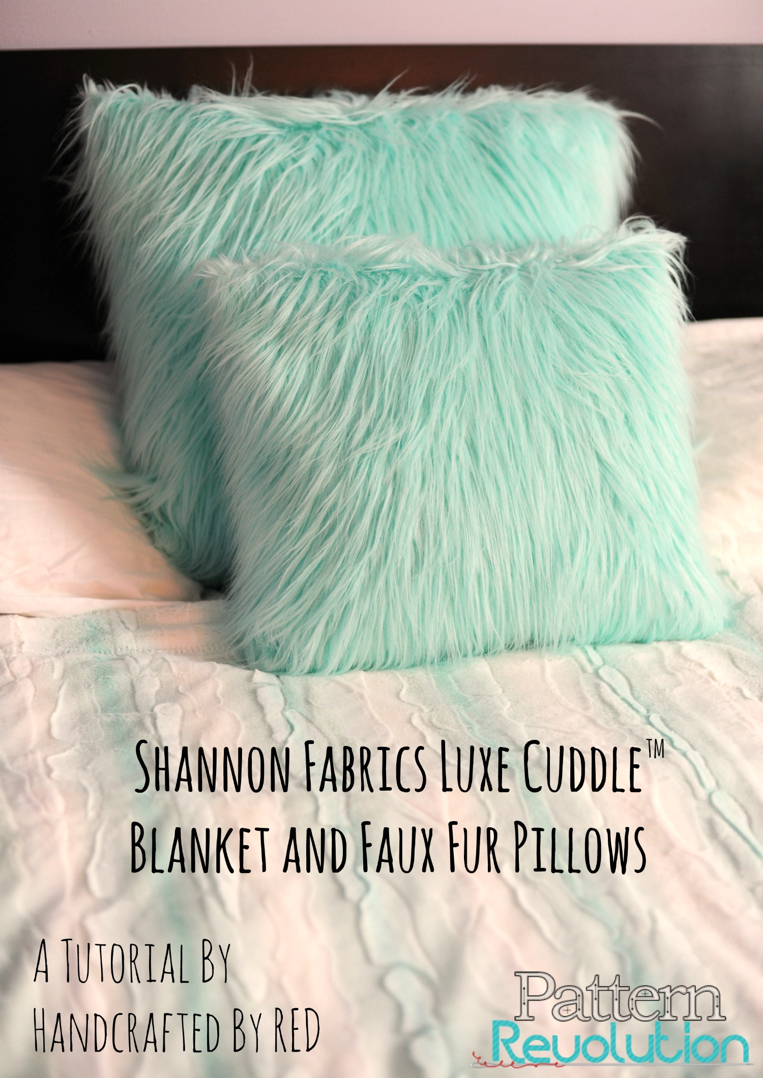 How To Make Pillows And A Blanket With Shannon Fabrics Pattern