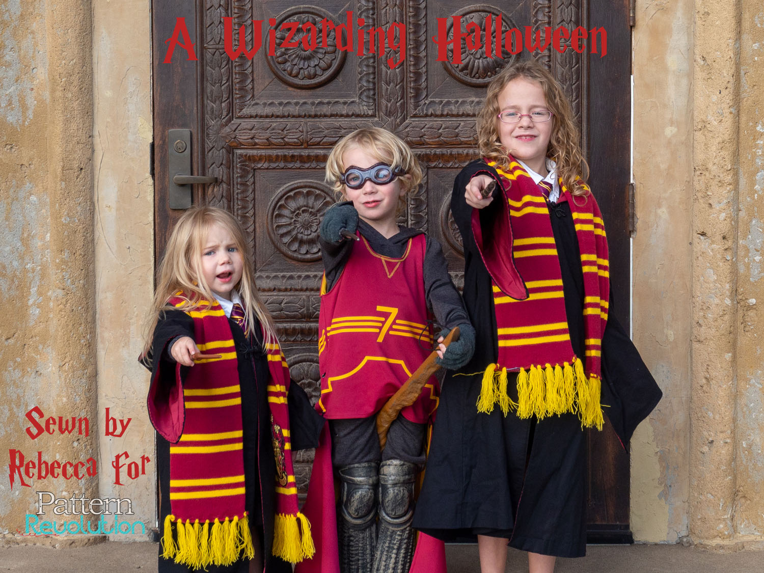 sewing for halloween: harry potter — pattern revolution