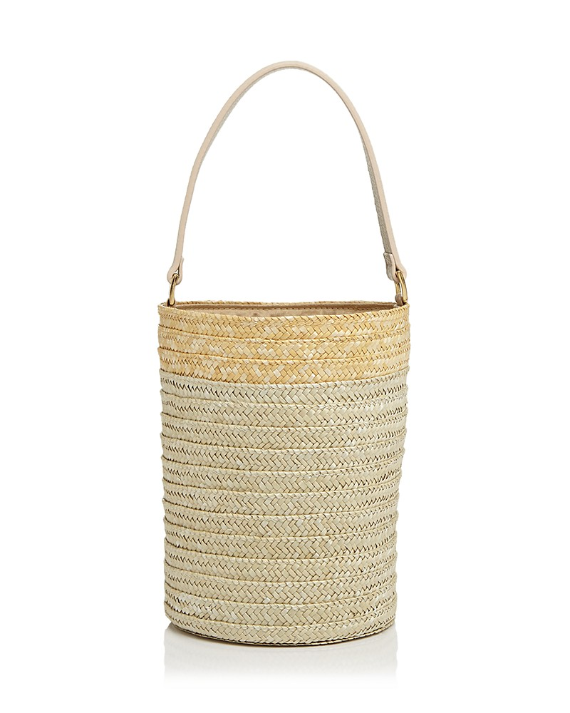 BUCKET BAG - I love that this trendy bucket bag style comes in straw. I really love it with a french scarf tied to it. I think it elevates the look making it a bit dressier. This is also less than $50!