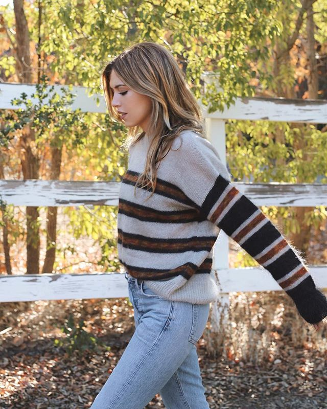 Fall Stripes 🍂 found my perfect sweater via @shopbop {see the full post on caitlinconfidential today}