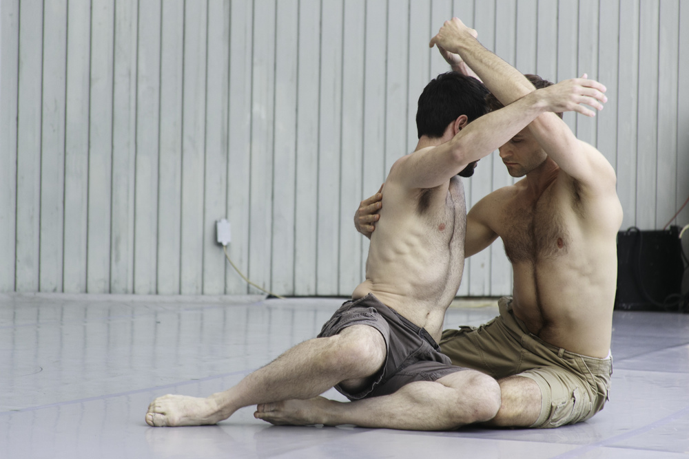 Rob Kleindorst and James Samson • photo by Francisco Graciano