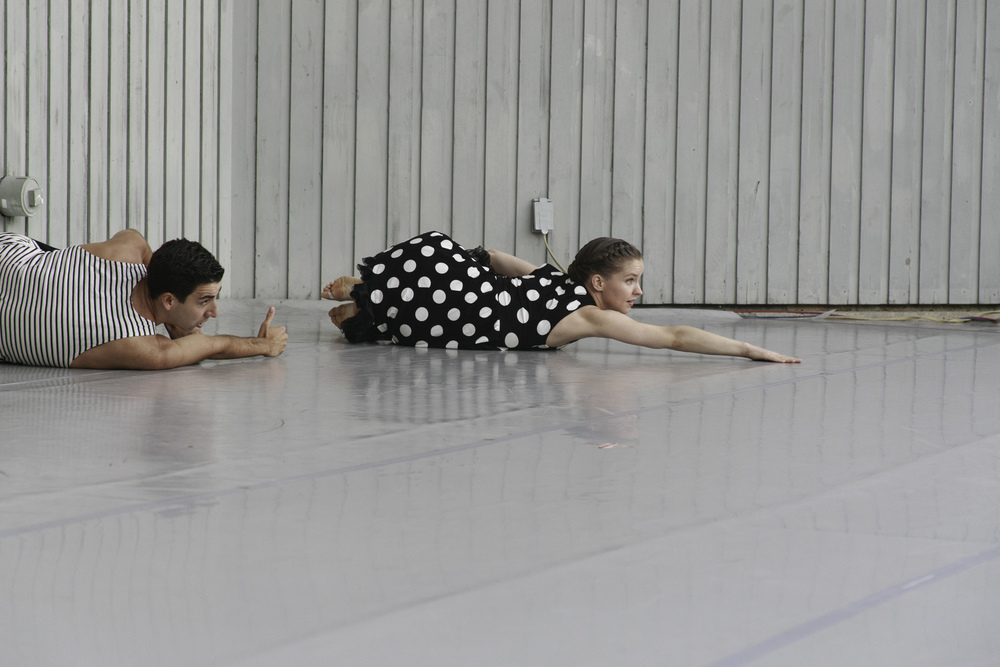NøA Dance, Joseph Wamp and Lucy Wilson • photo by Francisco Graciano