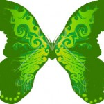 22491-Clipart-Illustration-Of-A-Beautiful-Green-Butterfly-With-Yellow-Near-The-Body-On-A-White-Background-150x150.jpg