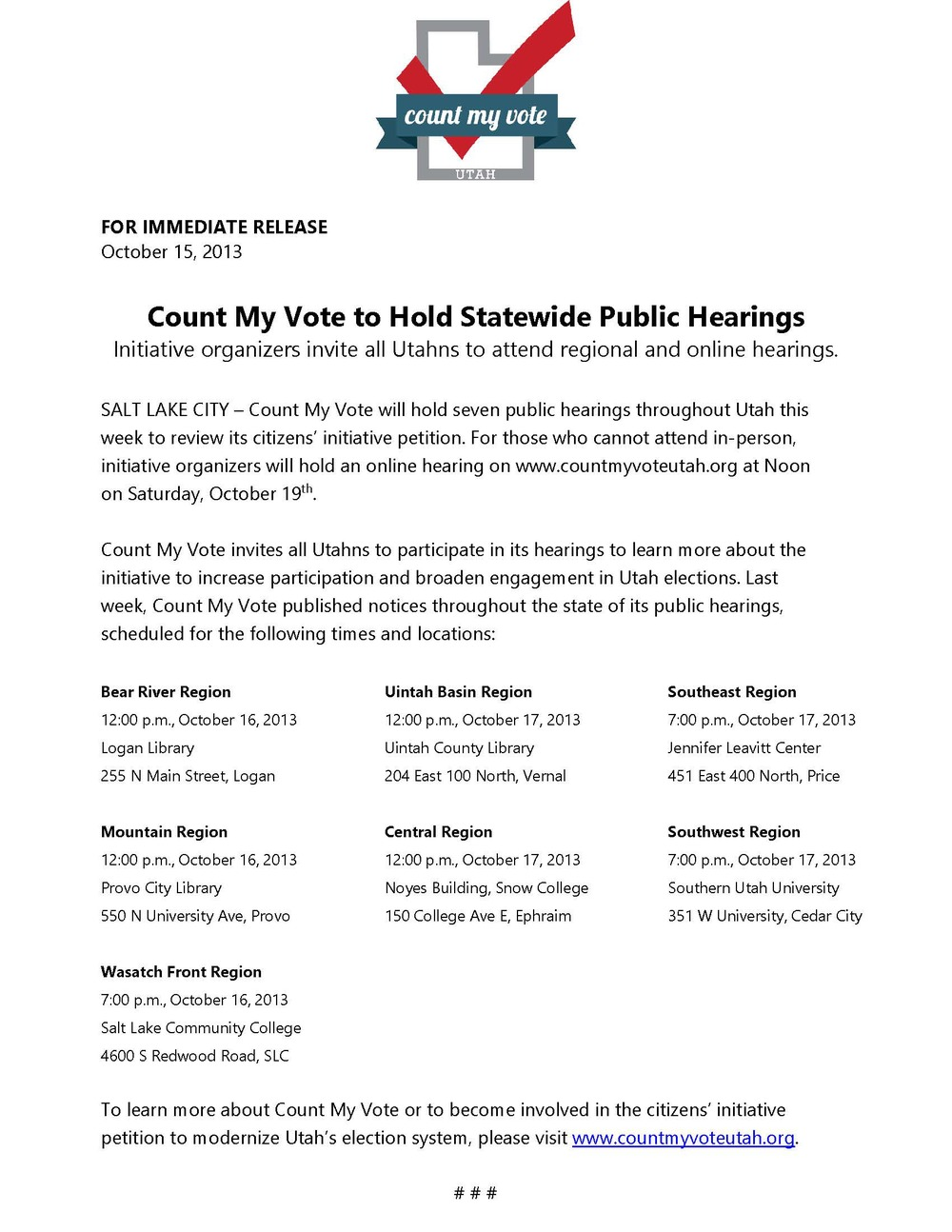Count My Vote to Hold Statewide Public Hearings.jpg