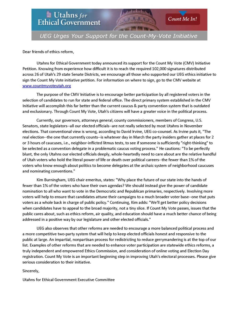 UEG Endorses Count My Vote.jpg
