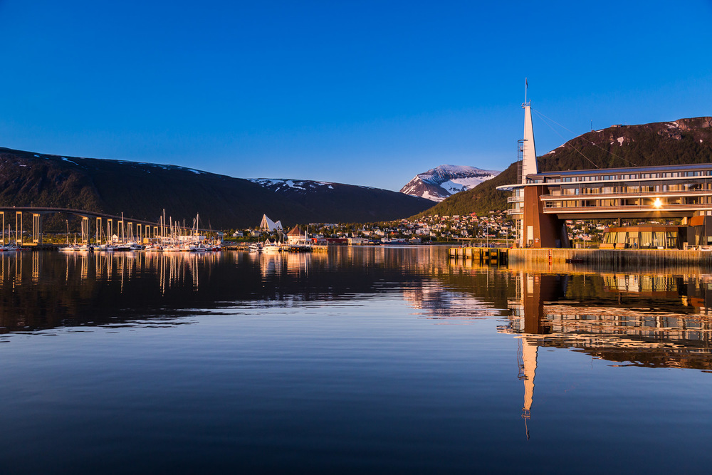 Tromso Norway 1:00am