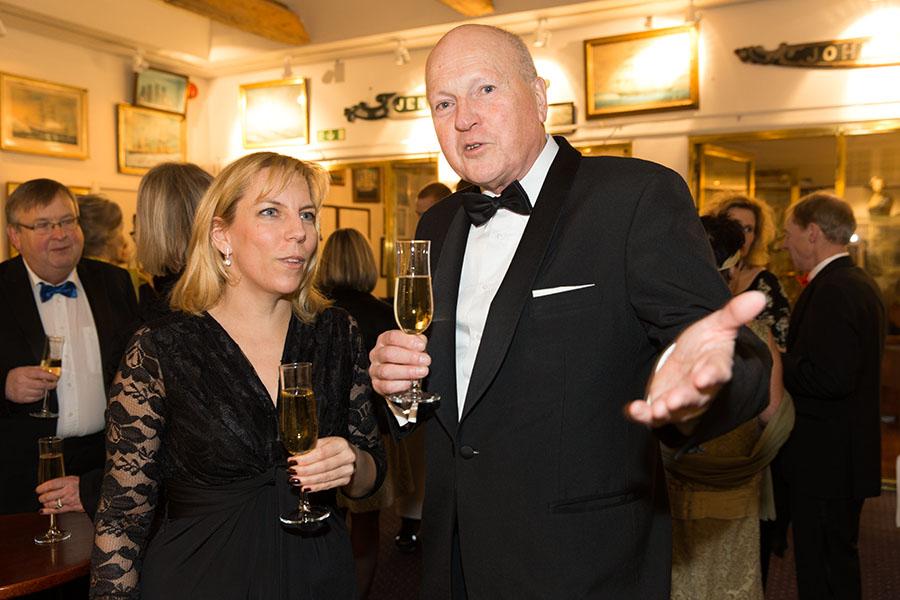 Årets Samlare, Thomas Lindblad med sin Anna Lantz.