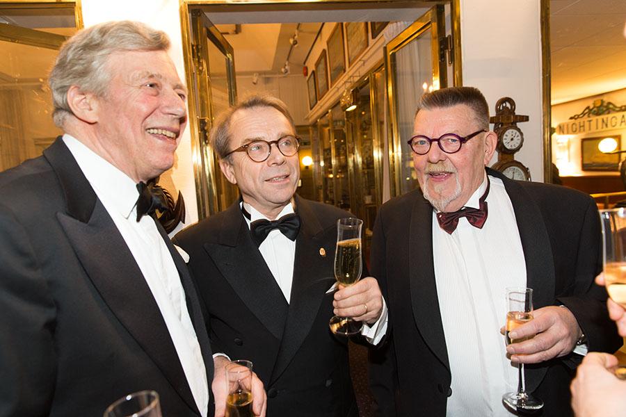 Winston Håkanson, Knut Knutsson och Lars-Yngve Johansson.