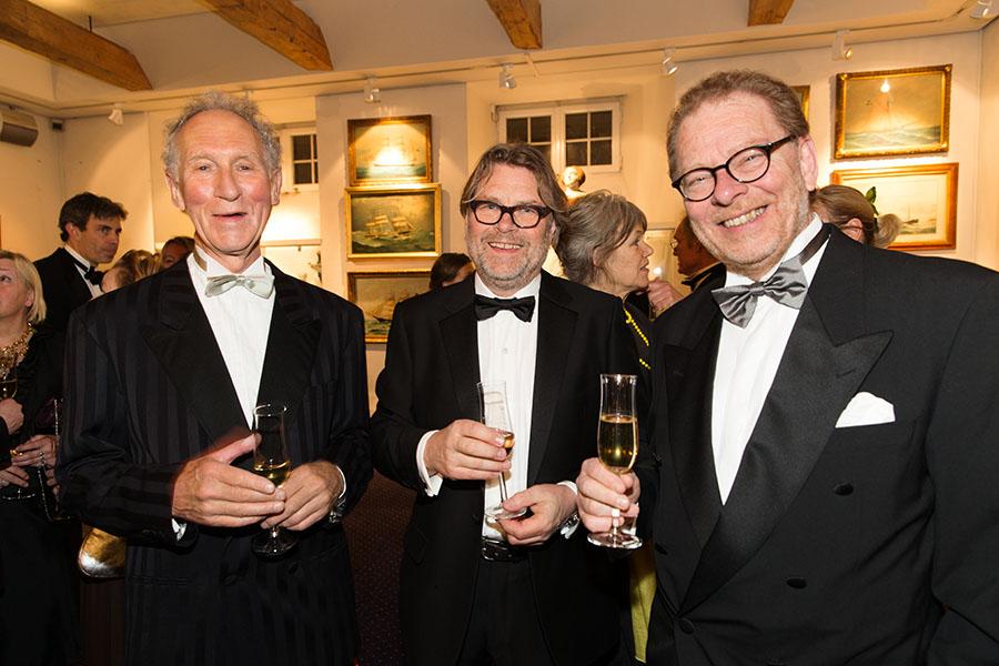 Peter Pluntky, Gunnar Näslund och Claes Moser.