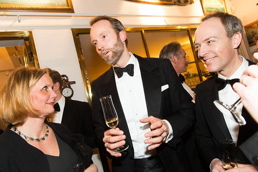 Maria Wermelin, Pontus Silfverstolpe och Isaac Pineus.