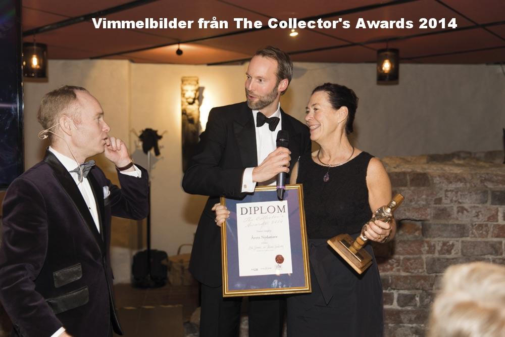Peder Lamm och Pontus Silfverstolpe med designexperten Eva Seeman, som fick priset för Årets Nydanare tillsammans med sin tidigare kollega Helena Smedberg (ej med på bild).
