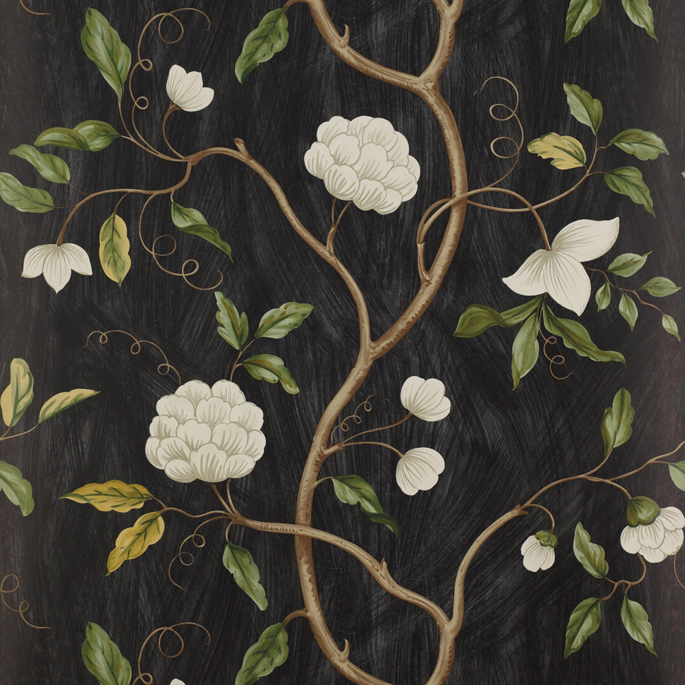 20. SNOW TREE, BLACK