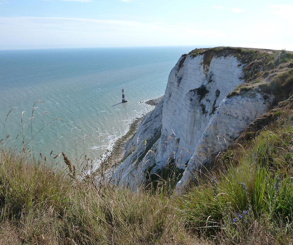 Utsikt från Beachy Head