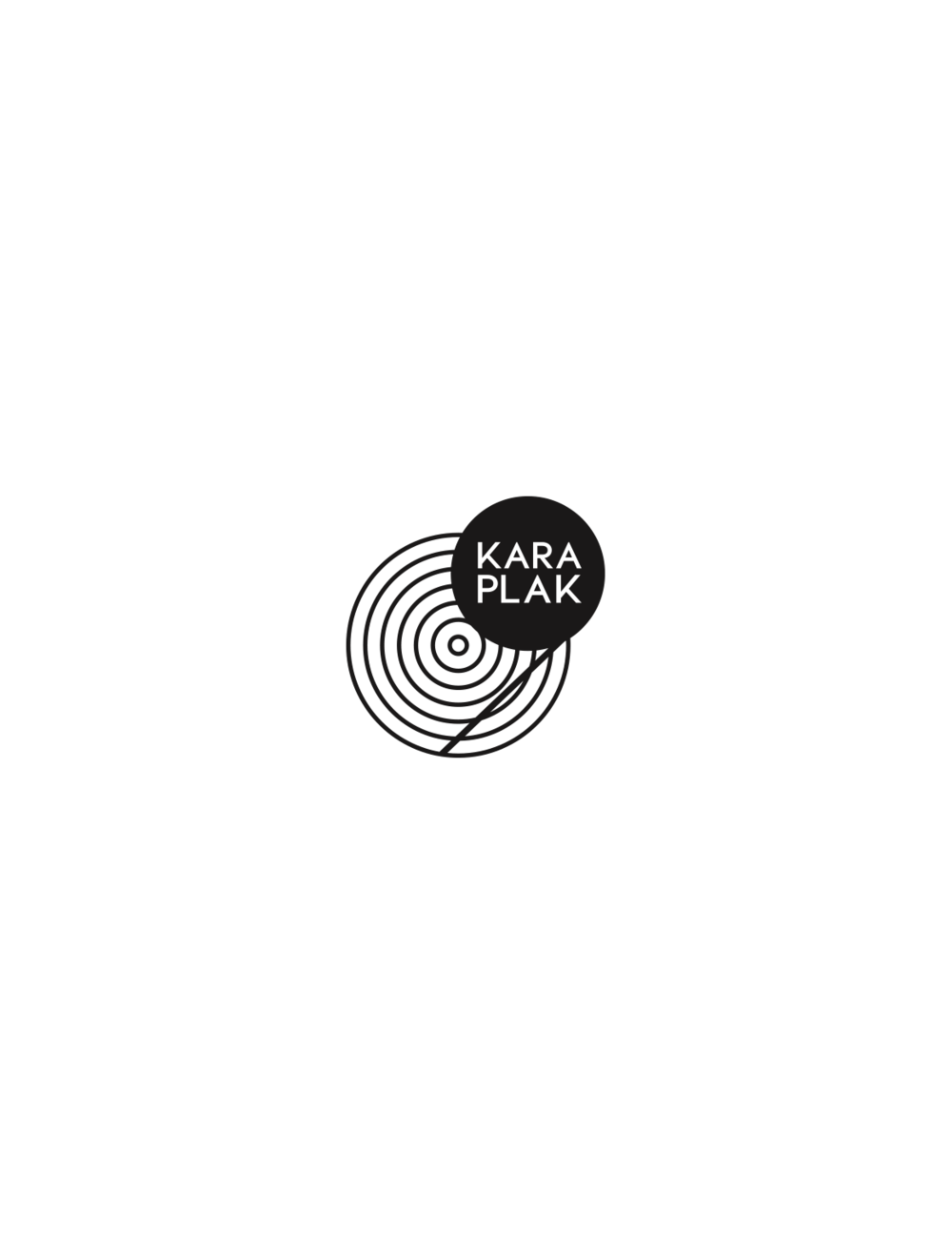 Logo for Kara Plak Publishing, 2015.